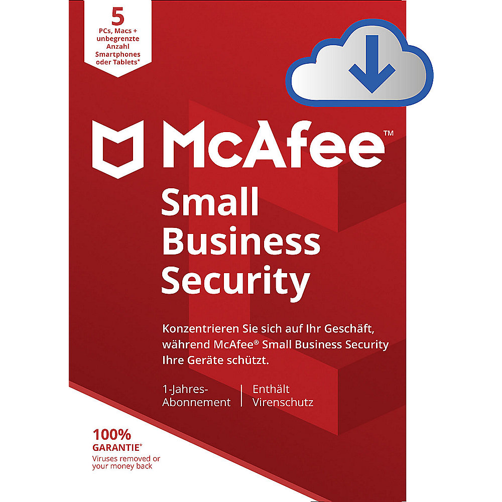 McAfee Small Business Security 05-Device DE