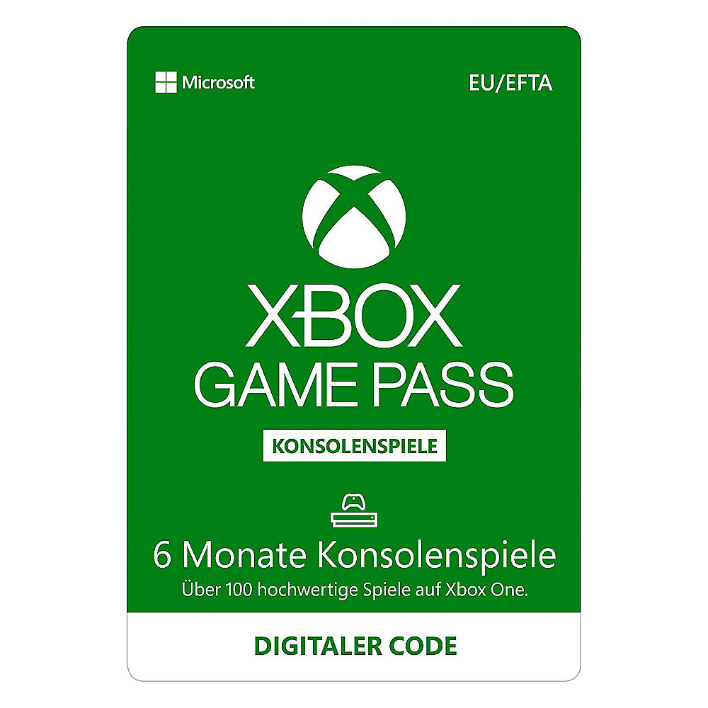 Xbox Game Pass 6 Monate