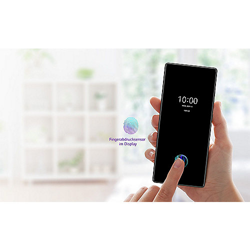 LG WING Illusion Sky Android 10.0 Smartphone