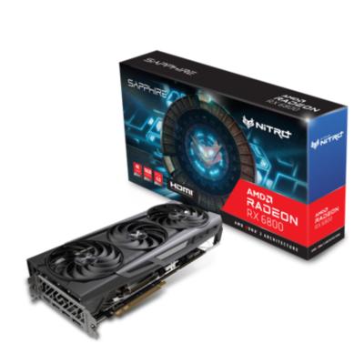Sapphire Technologies Sapphire AMD Radeon RX 6800 OC Nitro Gaming Grafikkarte mit 16GB GDDR6