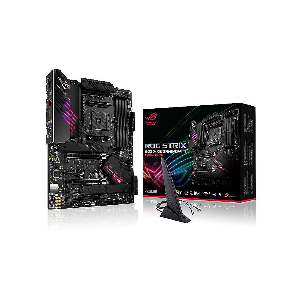 ASUS ROG Strix B550-XE Gaming WiFi ATX Mainboard AM4 M.2/USB3.2/HDMI/DP/WLAN/BT