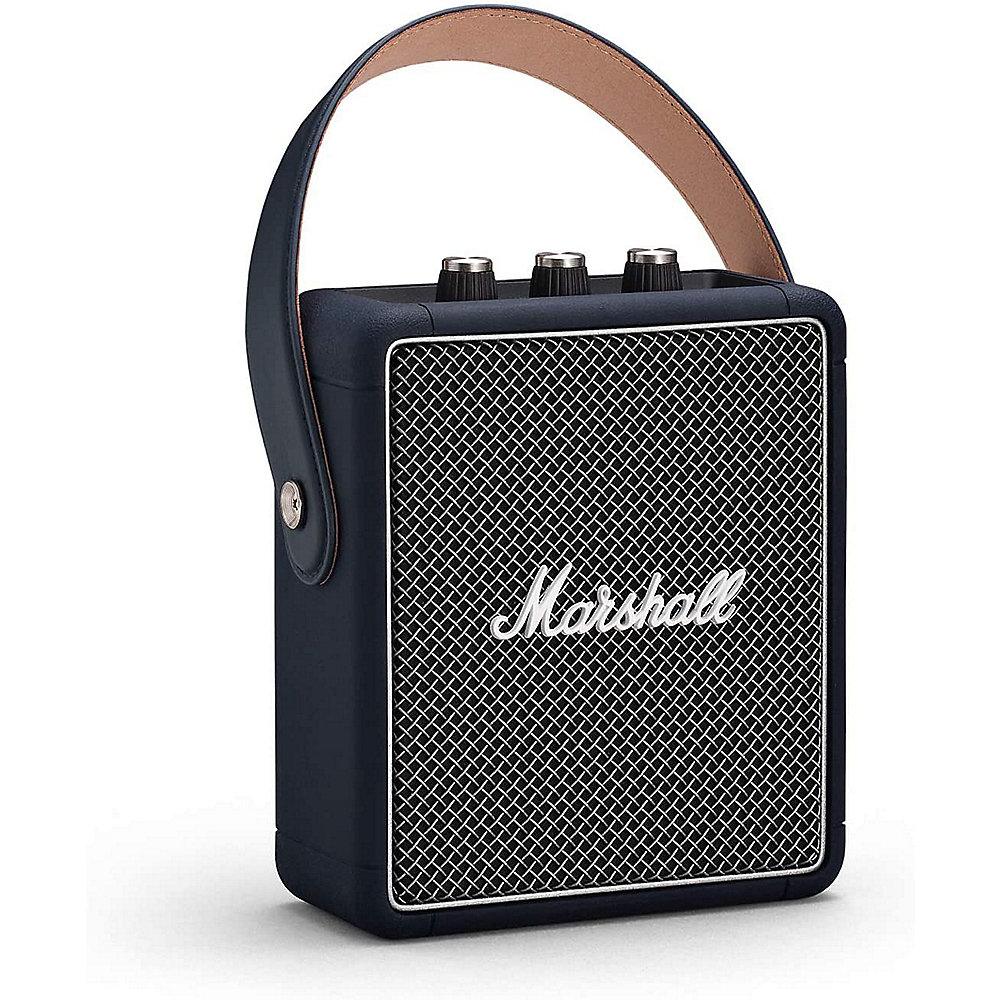 Marshall Stockwell II Tragbarer Bluetooth Lautsprecher indigo blau