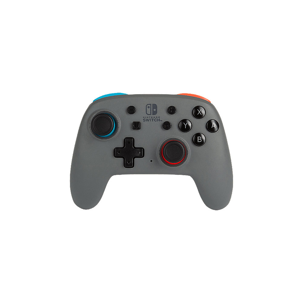 Power A Nano Enhanced Wireless Controller Für Nintendo Switch - Grey/Neon