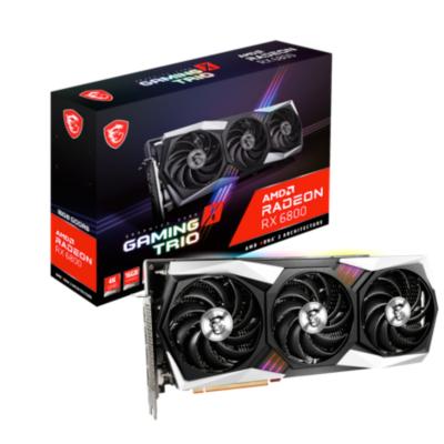 MSI AMD Radeon RX 6800 Gaming X Trio 16GB Grafikkarte GDDR6 HDMI 3x DP