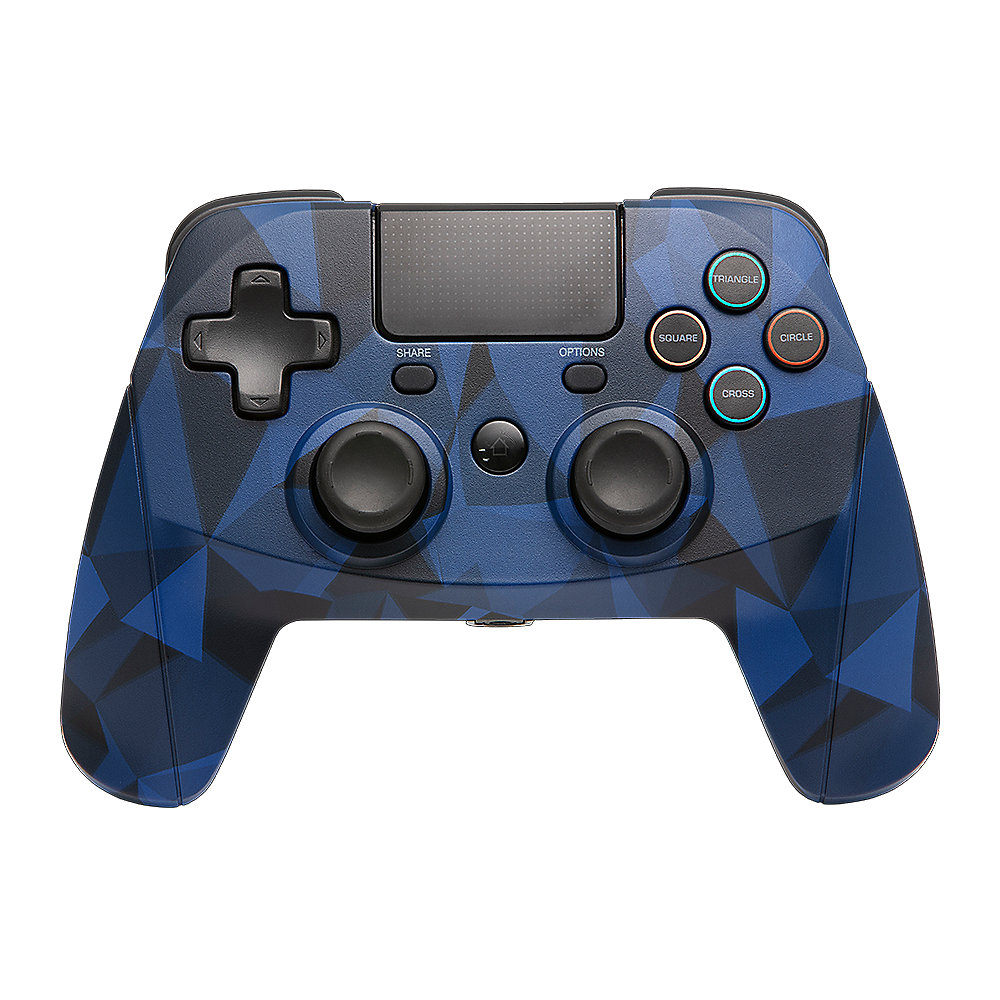 Snakebyte Playstation Controller GAME:PAD 4 S WIRELESS Camouflage Blau (PS4)