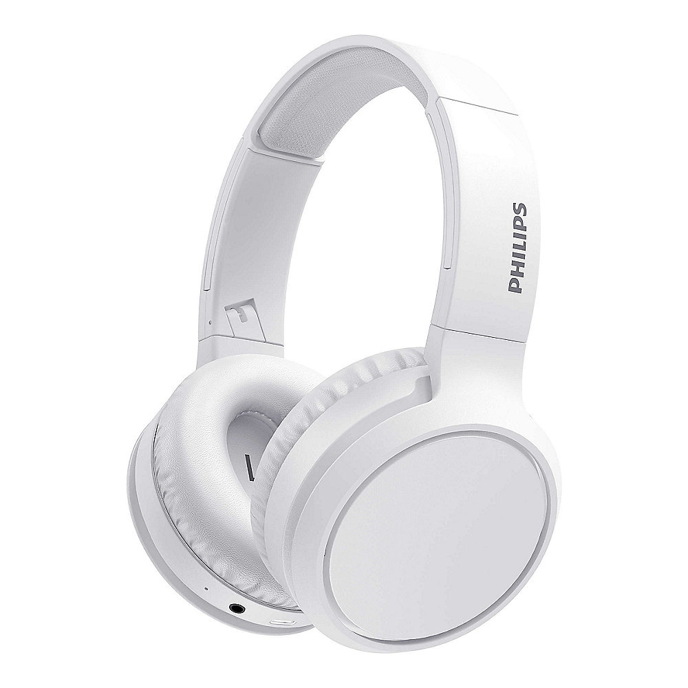 Philips TAH5205WT/00 Over Ear Kopfhörer Bluetooth Wireless - weiß USB-C