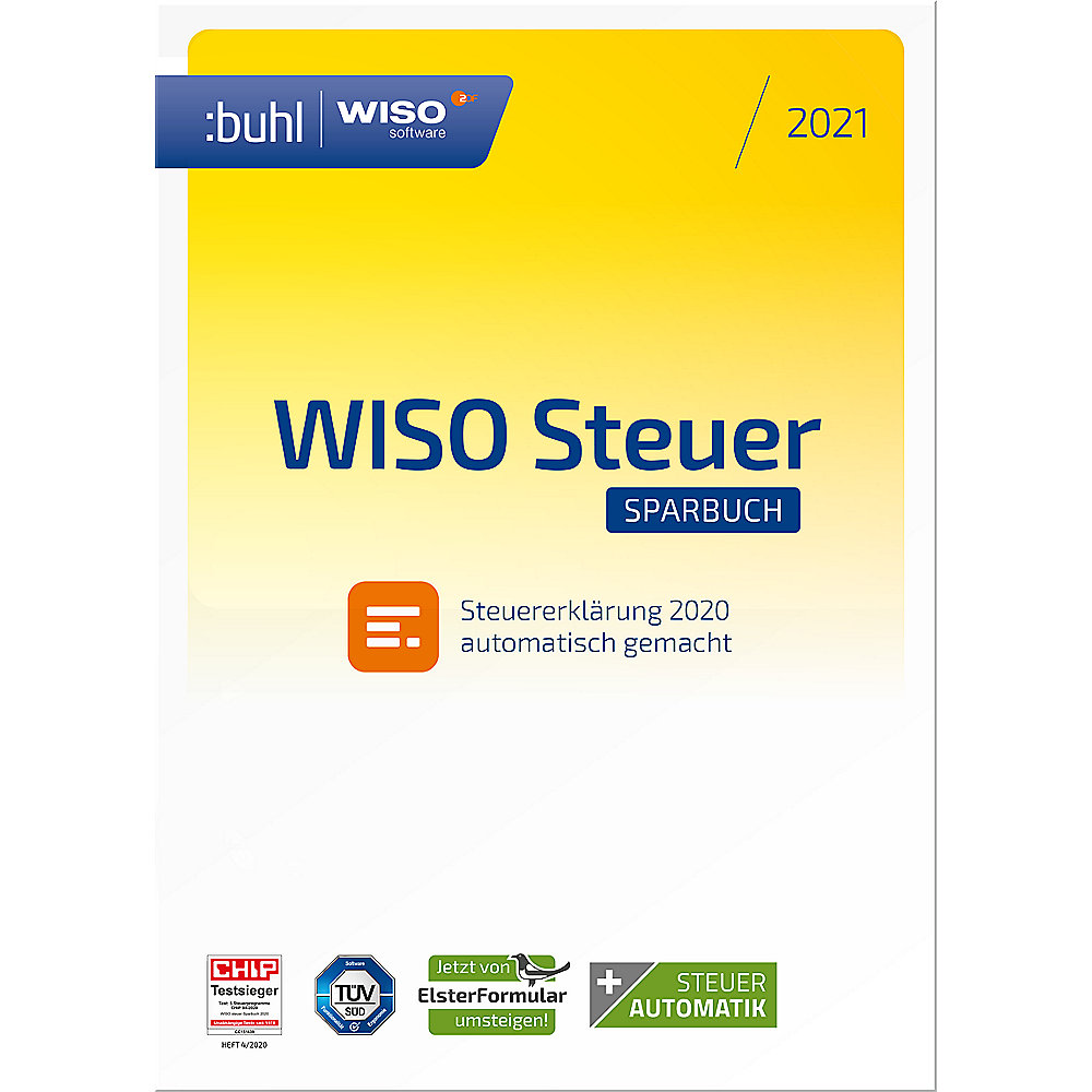 Buhl Data WISO Steuer-Sparbuch 2021 ESD ++ Cyberport