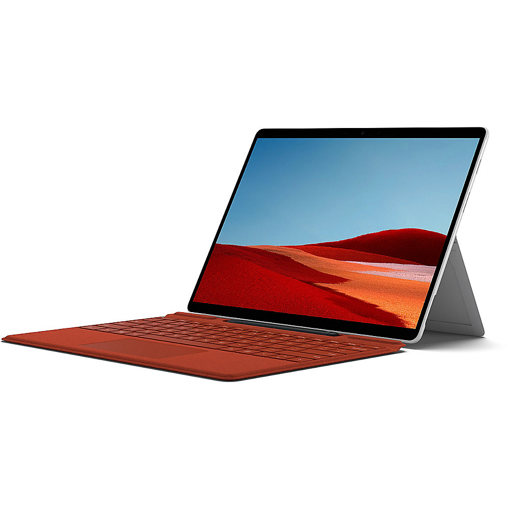 "Surface Pro X 1WT-00003 Platin SQ2 16GB/256GB SSD 13"" 2in1 LTE W10 KB rot Pen"