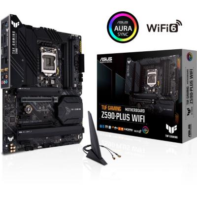 ASUS TUF Gaming Z590-Plus WIFI ATX Mainboard 1200 DP HDMI M.2 USB3.2 WIFI BT