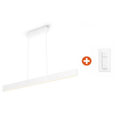 Philips Hue White & Color Ambiance Ensis Pendelleuchte inkl. Dimmschalter V2