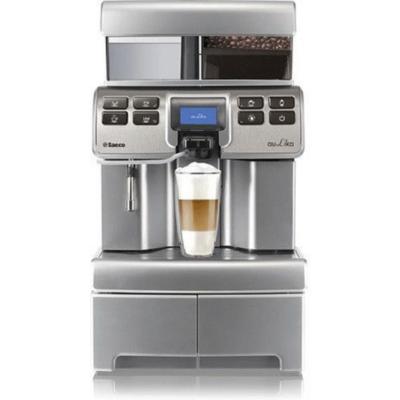 Saeco 10005234 Aulika Top High Speed Capuccino V2 silber Kaffeevollautomat