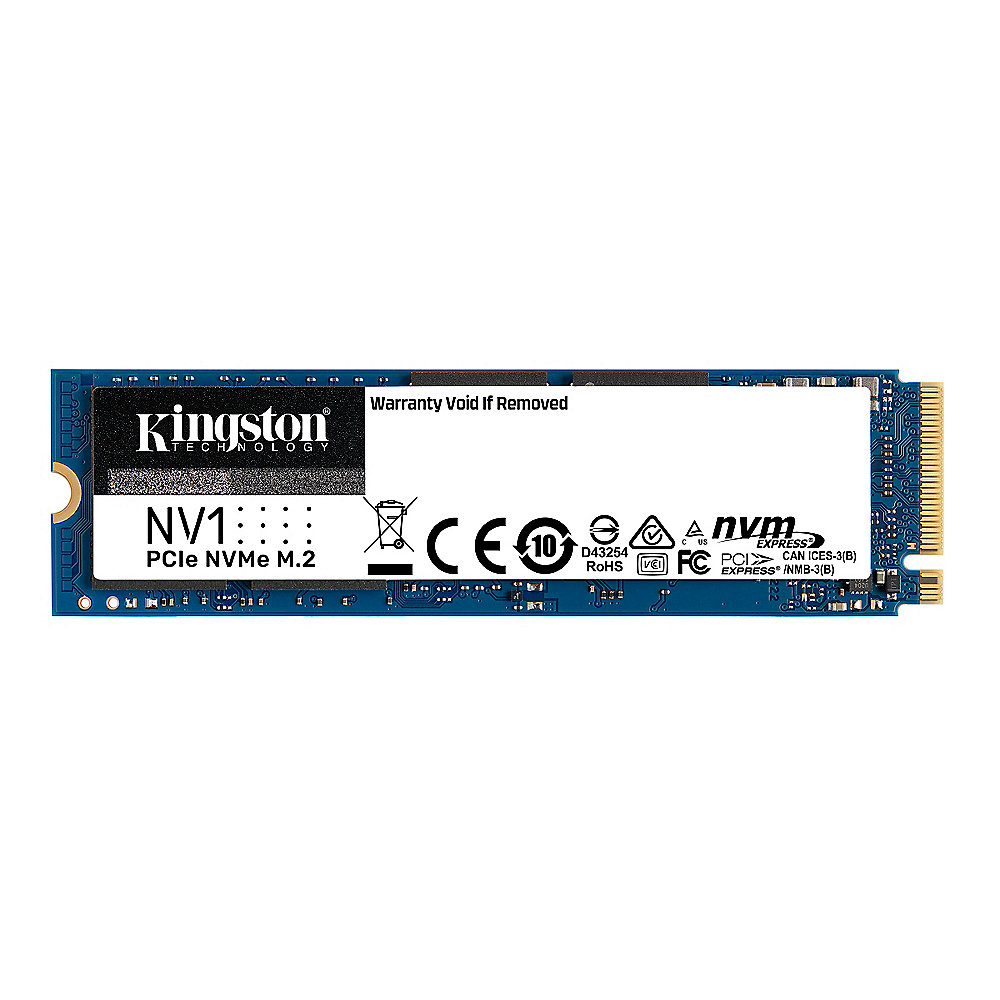 Kingston NV1 Interne NVMe SSD 1 TB M.2 2280 PCIe 3.0