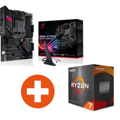 ASUS ROG Strix B550-F Gaming Wi-FI ATX Mainboard AMD Ryzen 7 5800X