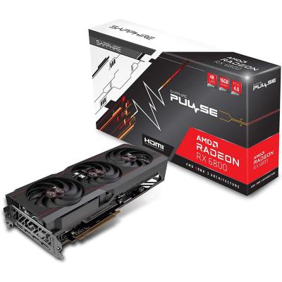 Sapphire Technologies Sapphire AMD Radeon RX 6800 OC Pulse Gaming Grafikkarte mit 16GB GDDR6