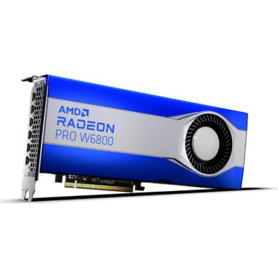 AMD Radeon Pro W6800 32GB GDDR6 Workstation Grafikkarte 6x mDP